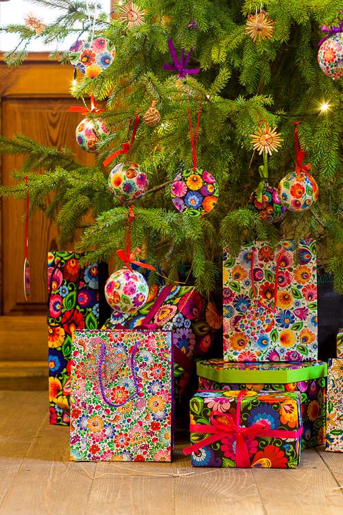 Folk torebki prezentowe