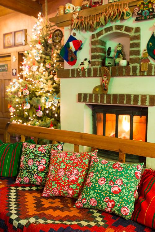 Poduszki dekoracyjne FOLK w góralskie wzory ludowe