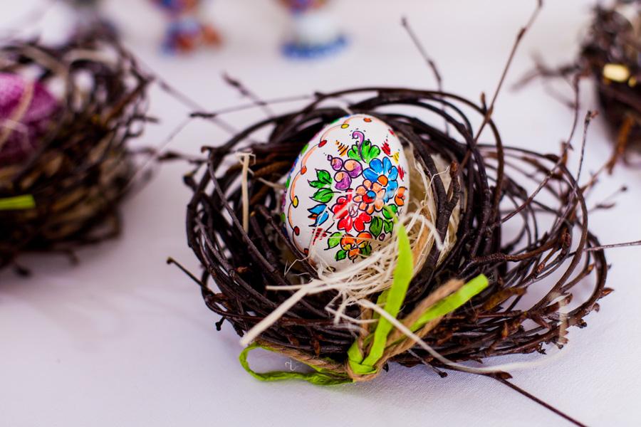Opolska kroszonka - pisanka ręcznie malowana