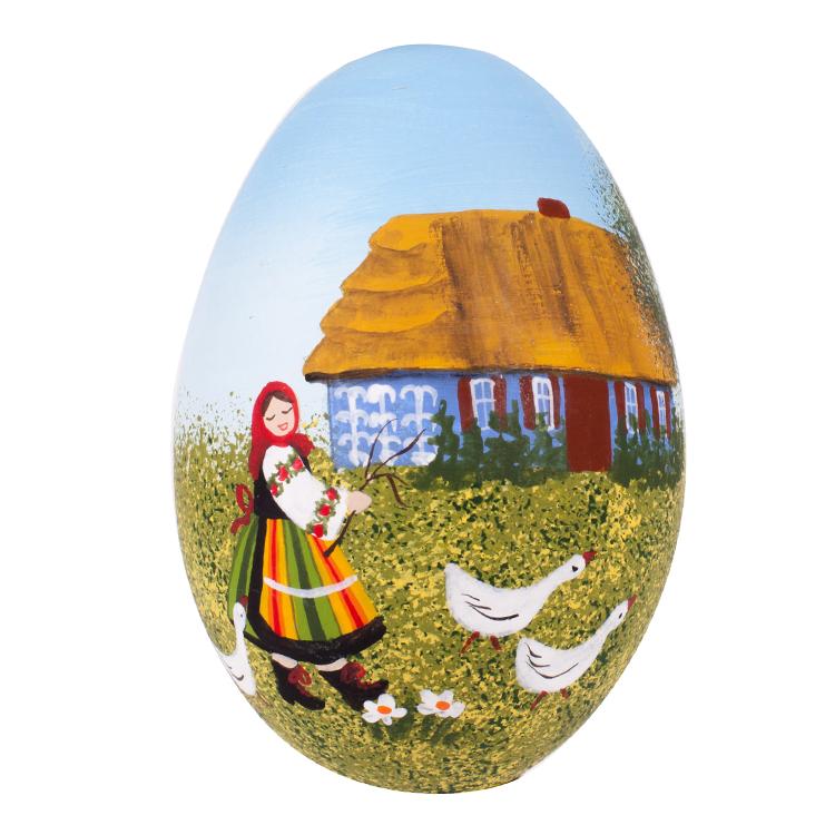Ręcznie malowane jajko