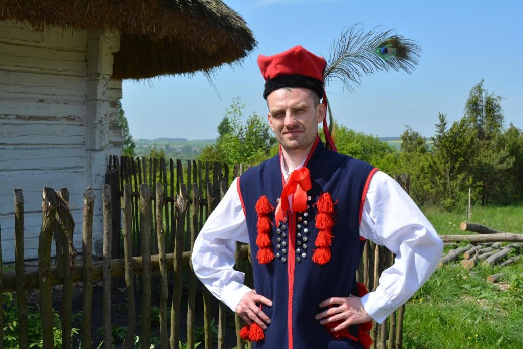 Męski strój krakowski