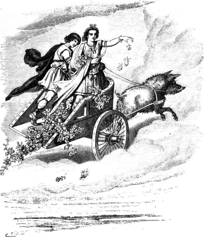 Starogermański bóg Freyer