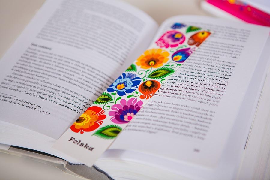 Folk zakładka do książek