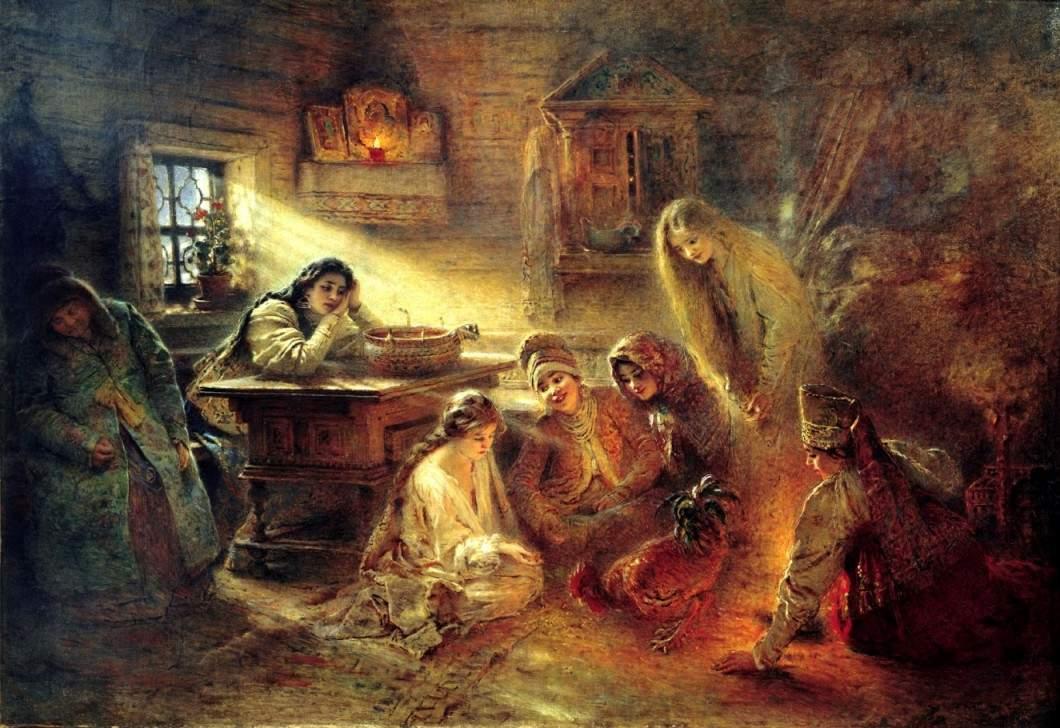 Konstanty Makowski - Świąteczne wróżby
