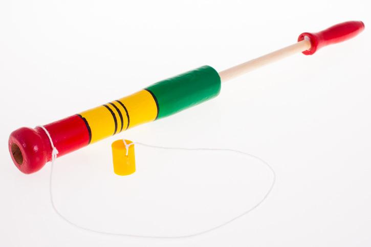 Tradycyjna zabawka ludowa - pukawka