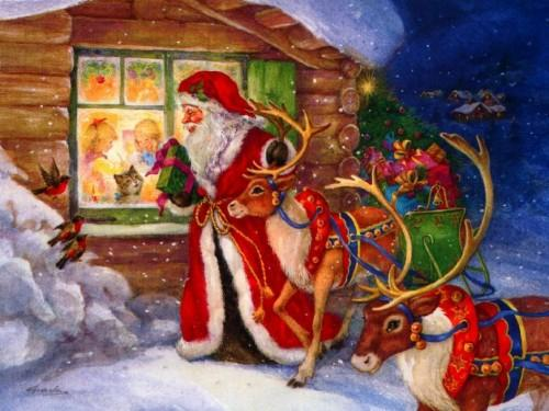 Mikołajki ze świętym Mikołajem