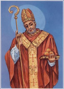Św. Mikołaj jako biskup Miry