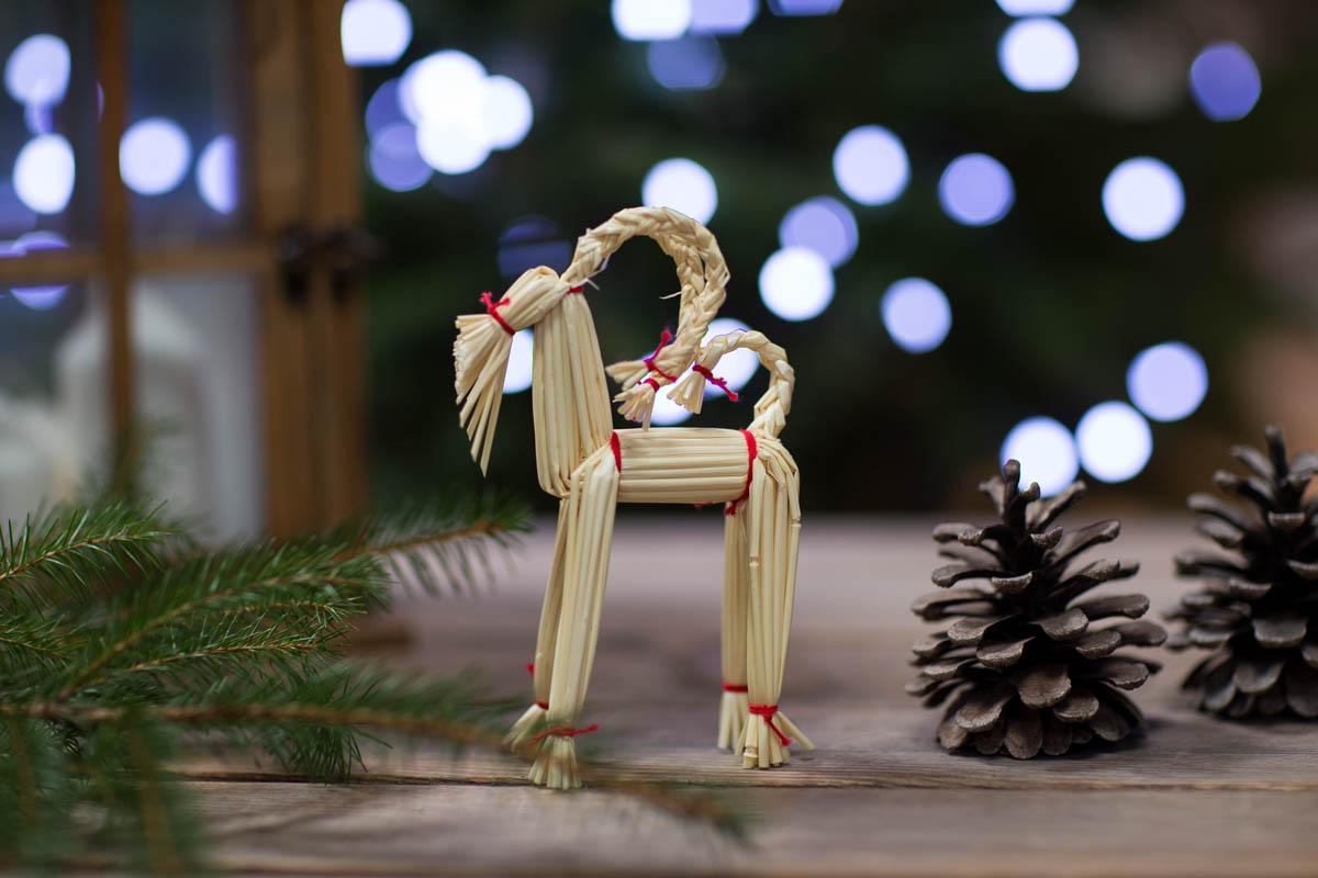 Tradycyjne dekoracje Bożonarodzeniowe