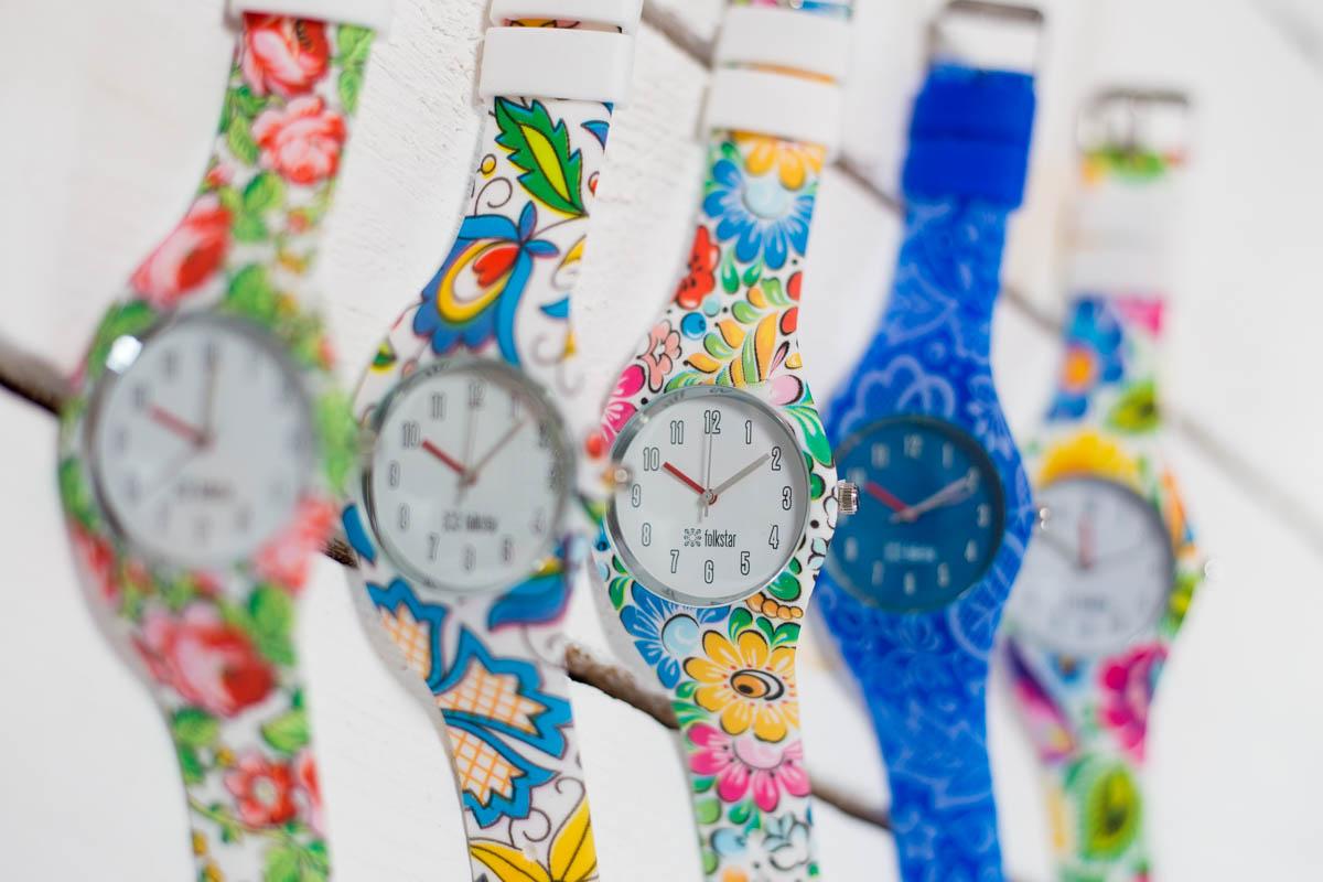 Zegarki silikonowe