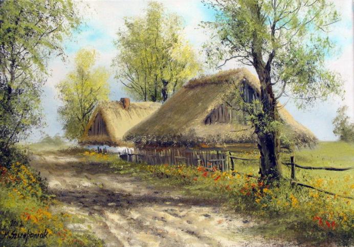 Powitanie wiosny na wsi obfitowało w ciekawe obrzędy.