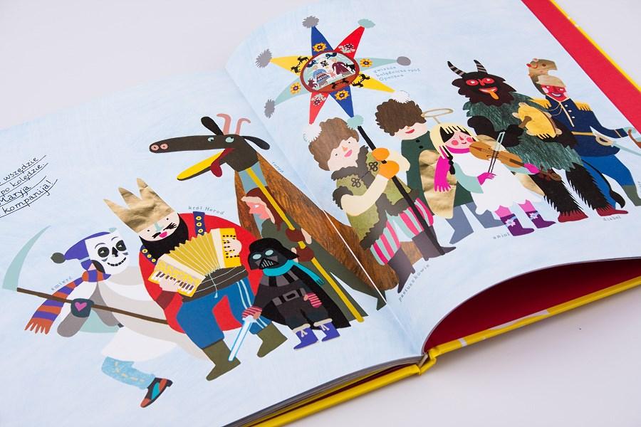 Książka o polskim folklorze dla najmłodszych