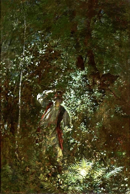 "Witold Pruszkowski ""Kwiat paproci"" (1875 r.)"