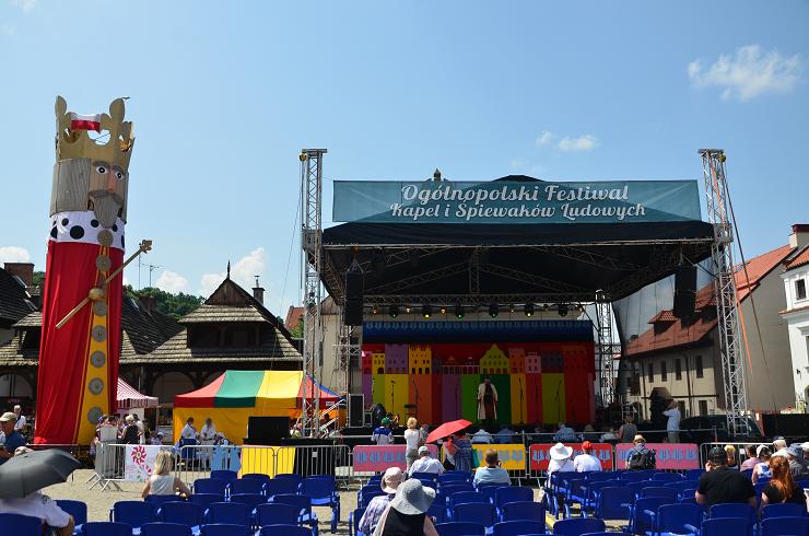 Festiwal Kapel i Śpiewaków Ludowych w Kazimierzu Dolnym to jeden z najstarszych festiwali