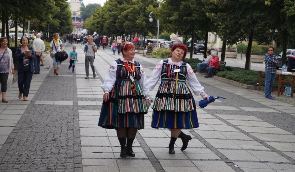 Pielgrzymka na Jasną Górę, łowiczanki (2016)