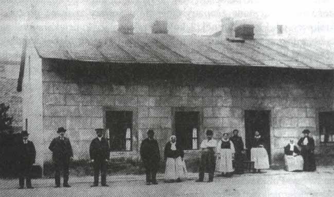 Zagroda bamberska, koniec XIX w.