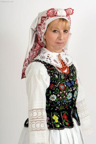 Czepce były popularne na całym południu Polski