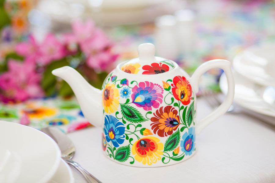 Ceramika w folk stylu