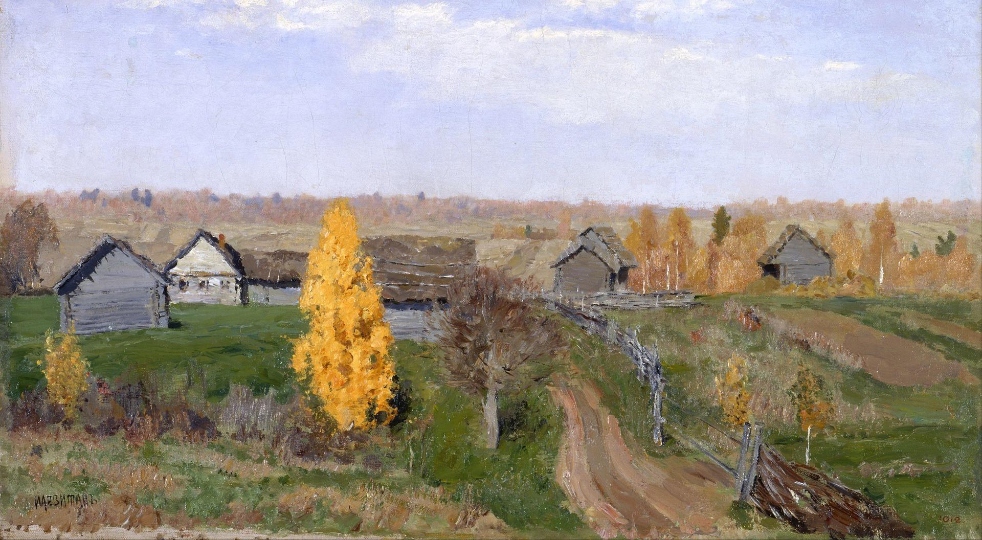 Jesień, Isaak Lewitan (1895)
