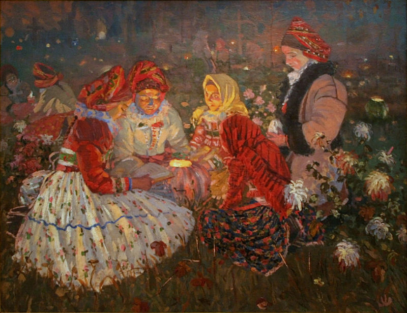 Zaduszki. Jož Uprka, 1897