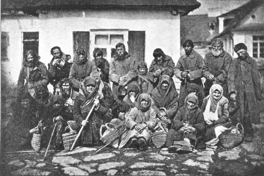 Wędrowni dziadowie, fot. Michał Greim (1892)