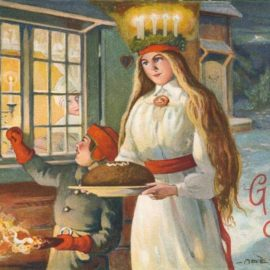 Święta Łucja, dnia przyrzuca...