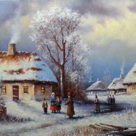 Spotkania towarzyskie umilały ciągnącą się zimę.