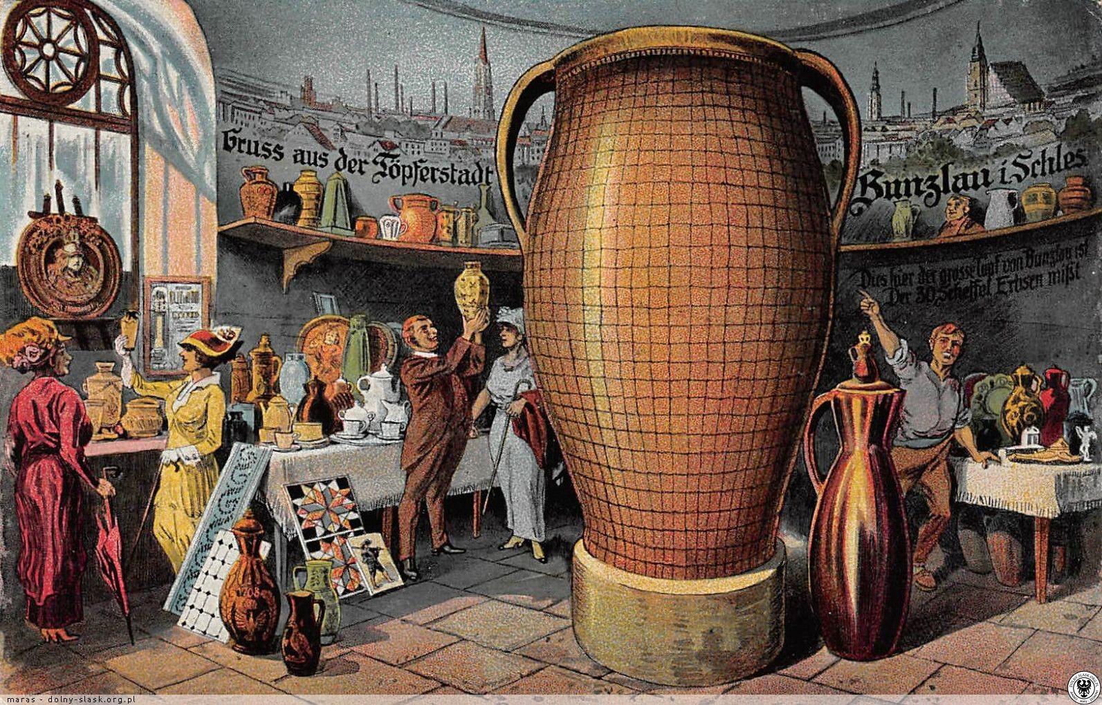 Wielki Garniec z Boleslawca, dzieło Johanna Gottlieba Joppego