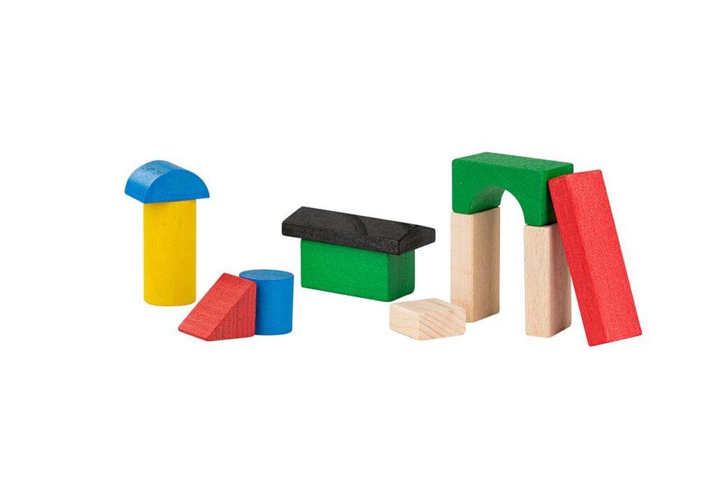 Drewniane eco klocki - pomysł na świąteczny prezent dla dziecka