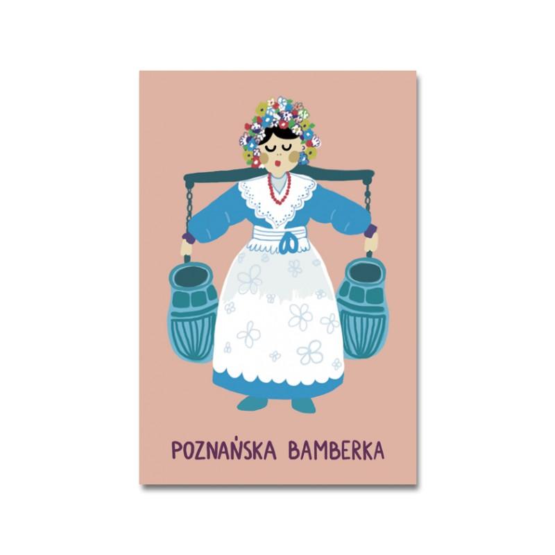 Pocztówka z wizerunkiem poznańskiej Bamberki