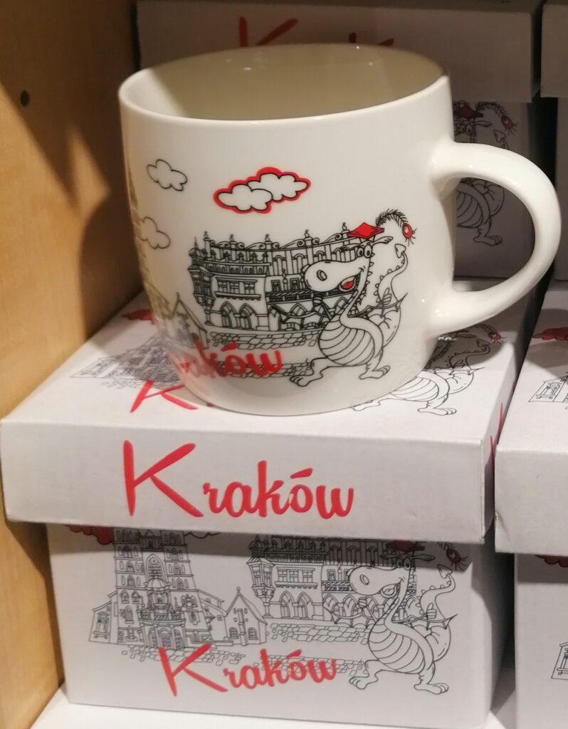 Kubek w pudełku - pomysł na prezent z Krakowa