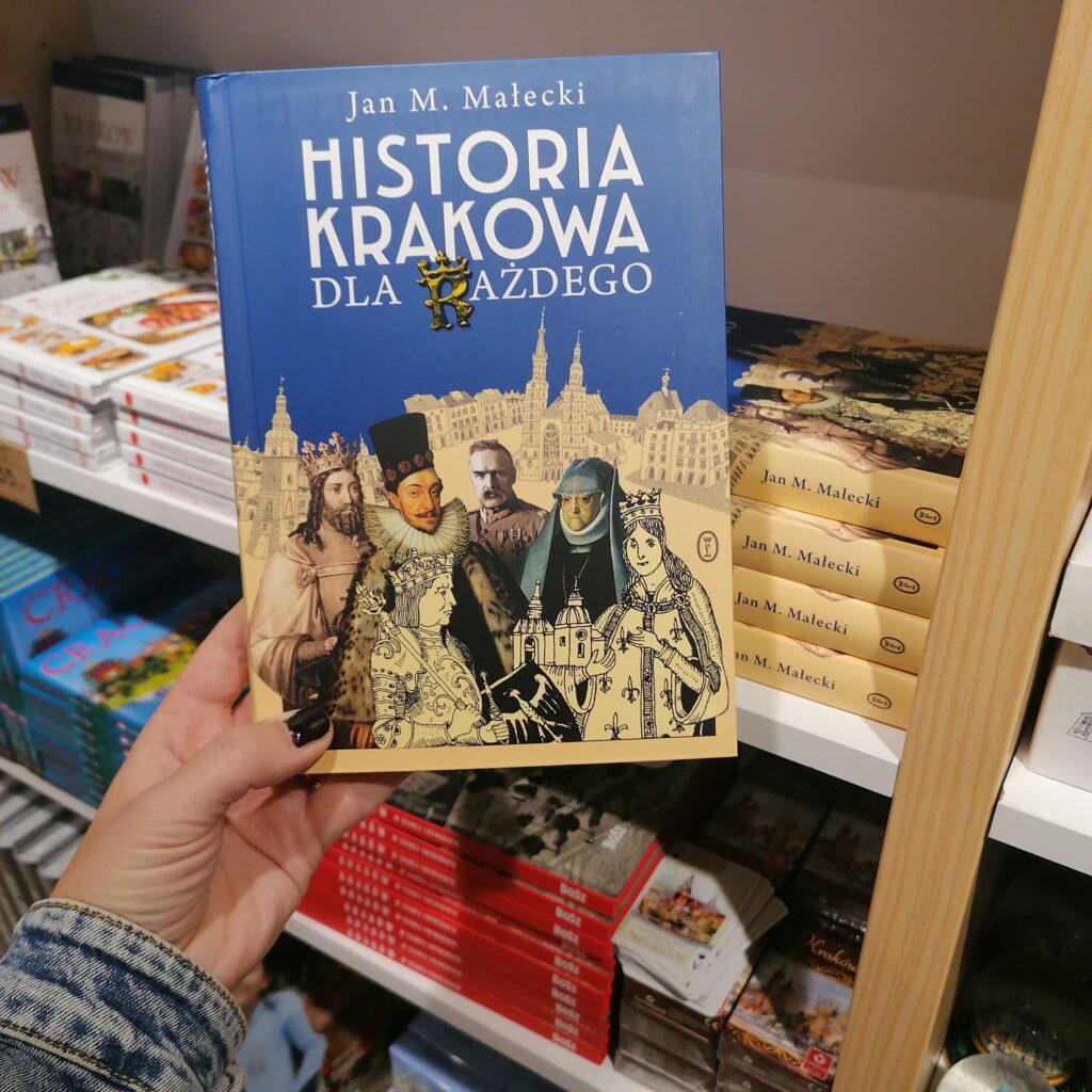 Książka Historia Krakowa dla Każdego dostępna w sklepie Folkstar przy ulicy Grodzkiej w Krakowie